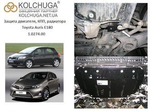 Защита двигателя Toyota Auris E180 - фото №3