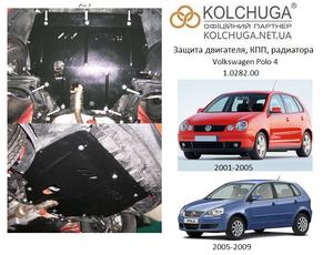Захист двигуна Volkswagen Polo 4 - фото №1