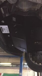 Защита двигателя Volkswagen Bora - фото №8