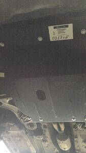 Защита двигателя Audi A3 8L - фото №9