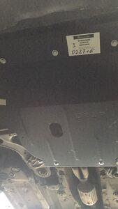 Захист двигуна Volkswagen Bora - фото №7