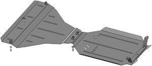Защита двигателя Subaru Outback 4 - фото №7