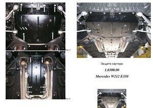 Защита двигателя Mercedes-Benz E-class W212 E350 - фото №1