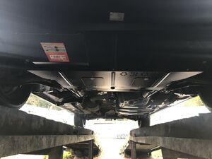 Защита двигателя Volkswagen T5 / T6 / Transporter / Multivan / Caravelle - фото №7