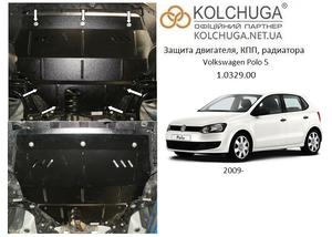 Защита двигателя Volkswagen Polo 5 - фото №3