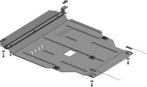 Защита двигателя Kia Rio 3 - фото №1