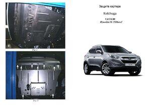 Защита двигателя Hyundai ix35 - фото №1