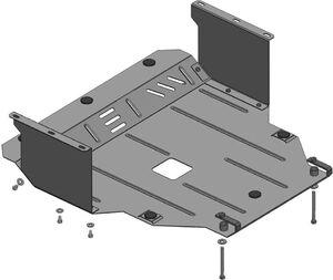 Захист двигуна Kia Picanto 2 - фото №3