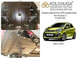 Захист двигуна Kia Picanto 2 - фото №1