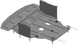 Защита двигателя Hyundai i-40 - фото №1