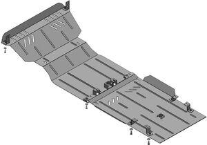Защита двигателя Tata Xenon XT - фото №3