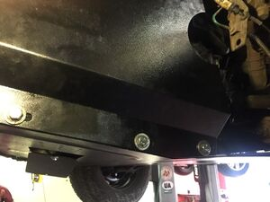 Защита двигателя Renault Master 2 - фото №13