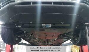 Защита двигателя Audi A5 B8 - фото №4