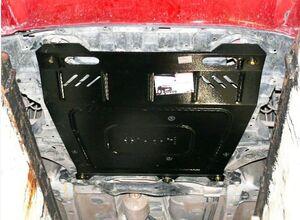 Защита двигателя Mitsubishi Lancer Х - фото №4