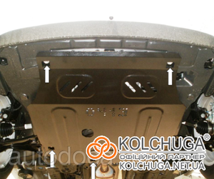 Защита двигателя Chevrolet Aveo T300 - фото №5