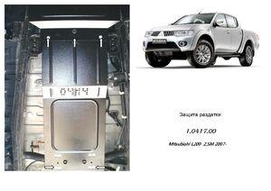 Защита двигателя Mitsubishi L200 4 - фото №6
