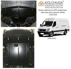 Защита двигателя Mercedes-Benz Sprinter W906 - фото №1