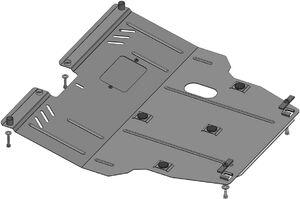 Защита двигателя Lifan Х60 - фото №3