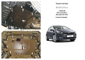 Захист двигуна Kia Ceed 2 - фото №1