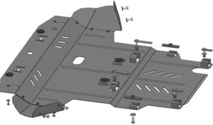 Захист двигуна Audi A4 B6 - фото №2