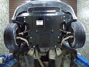 Защита двигателя Volkswagen Passat B5 - фото №6