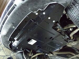 Защита двигателя Volkswagen Passat B5 - фото №8