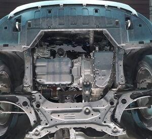 Защита двигателя Mitsubishi Outlander 3 - фото №3