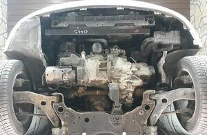 Защита двигателя Mazda 5 - фото №3