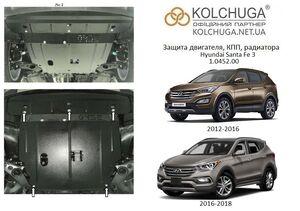 Захист двигуна Hyundai Santa Fe 3 - фото №1