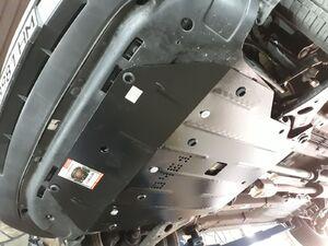 Защита двигателя Hyundai Tucson 2 (ix35) - фото №3
