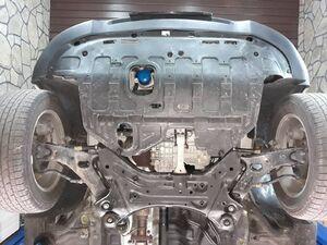 Защита двигателя Hyundai Tucson 2 (ix35) - фото №5