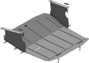 Защита двигателя Nissan Interstar - фото №5