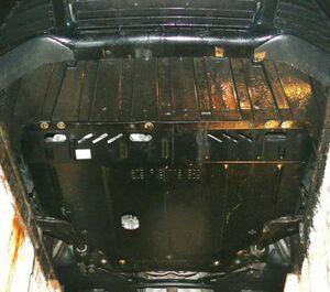 Защита двигателя Ford Grand C-Max - фото №2