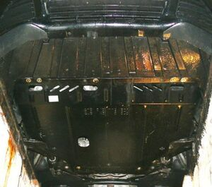 Защита двигателя Ford Connect - фото №5