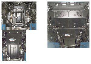Защита двигателя Toyota Land Cruiser Prado 150 - фото №4