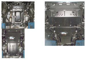 Захист двигуна Toyota Land Cruiser Prado 150 - фото №4