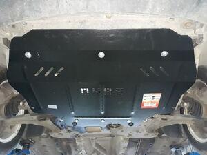 Защита двигателя Volkswagen Caddy 3 рестайлинг - фото №2