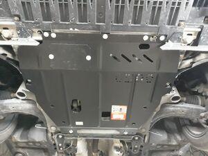 Защита двигателя Renault Fluence - фото №2