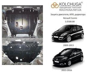 Защита двигателя Renault Scenic 3 - фото №1