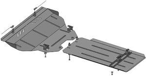 Защита двигателя Infiniti QX70 - фото №3