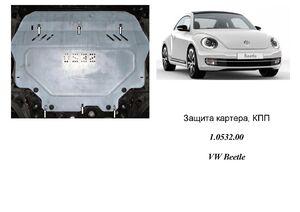 Защита двигателя Volkswagen Beetle - фото №1