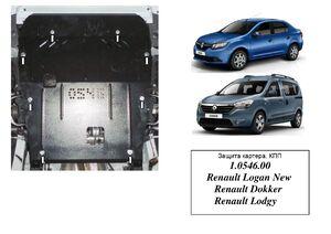 Защита двигателя Renault Logan - фото №3