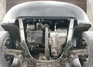 Защита двигателя Jac S5 - фото №3