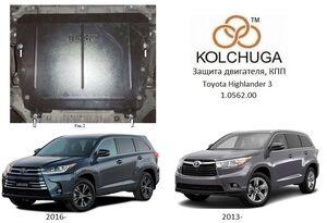 Захист двигуна Toyota Highlander 3 - фото №1