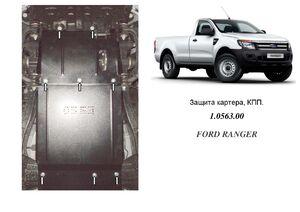 Защита двигателя Ford Ranger - фото №1