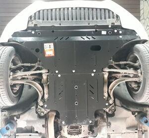 Защита двигателя Audi A5 B8 - фото №3