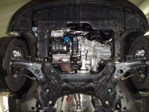 Захист двигуна Kia Rio 4 - фото №4