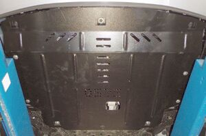 Защита двигателя Kia Rio 4 - фото №3