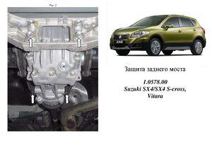 Захист двигуна Suzuki SX-4 S-cross - фото №3