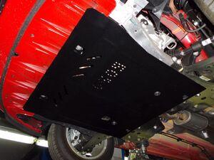 Защита двигателя Opel Corsa Е - фото №5